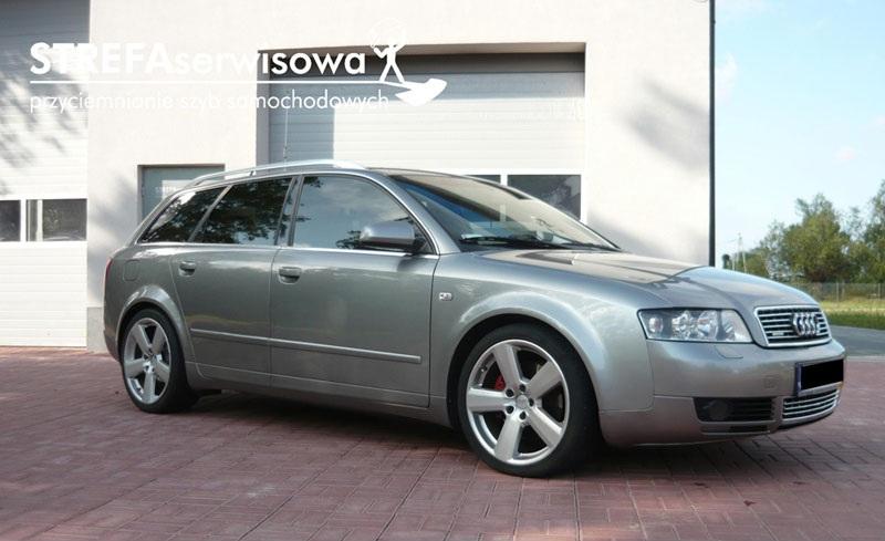 1 Audi A4 B6 kombi Przód 50% Tył 20%