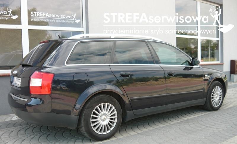 11 Audi A4 B6 kombi Przód 50% Tył 5%
