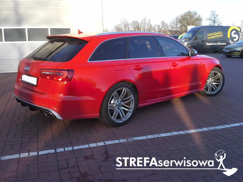 12 Audi A6 C7 kombi Przód 50% Tył 20%