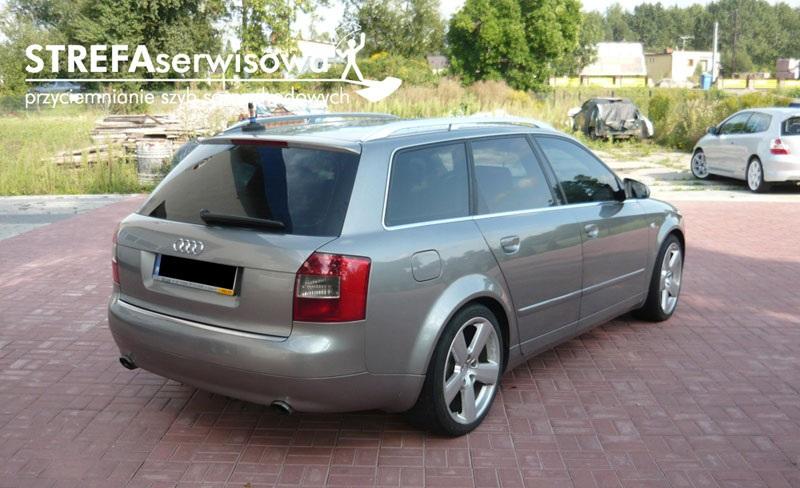 2 Audi A4 B6 kombi Przód 50% Tył 20%