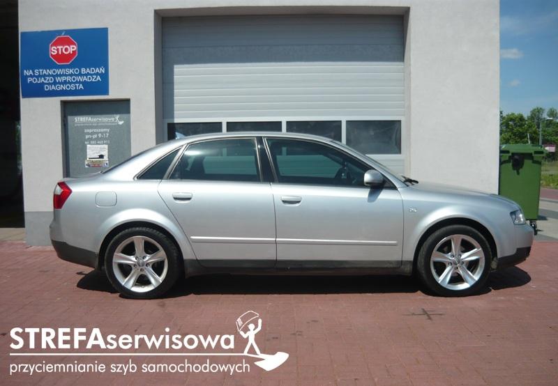 2 Audi A4 B6 sedan Przód 50% Tył 50%