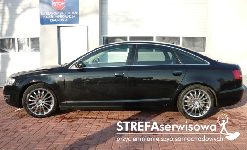 2 Audi A6 C6 sedan Tył 50%