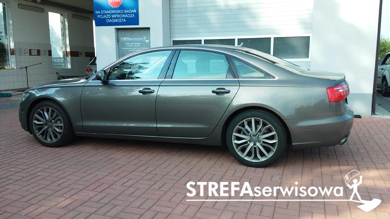 3 Audi A6 C7 sedan Przód 70% Tył 50%