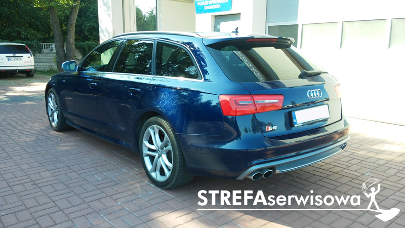 4 Audi A6 C7 kombi Tył 35%