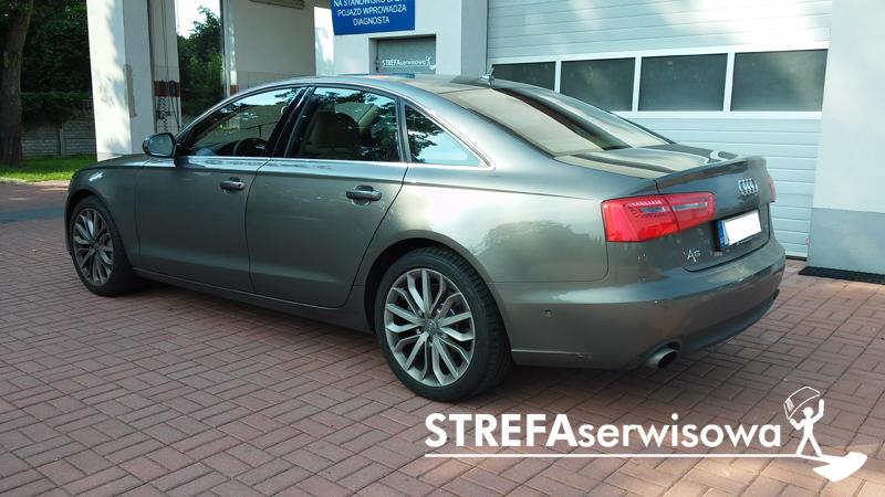4 Audi A6 C7 sedan Przód 70% Tył 50%