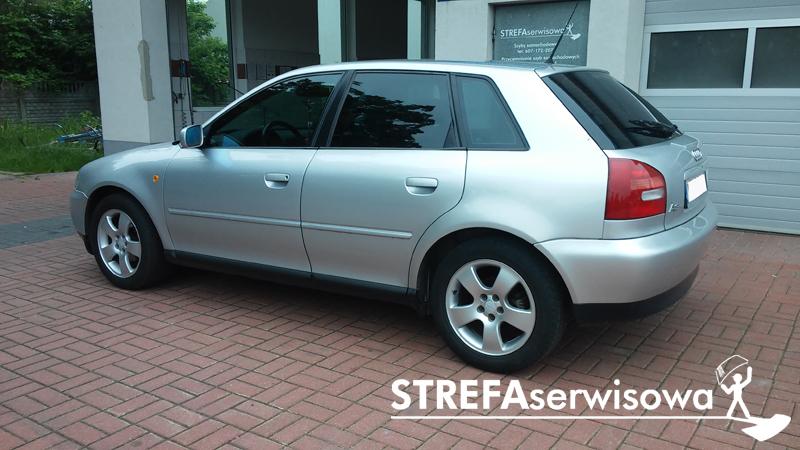 4.Audi A3 I Przód 50% Tył 35%