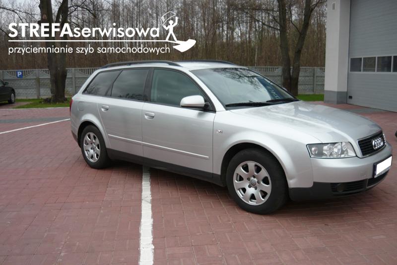 6 Audi A4 B6 kombi Przód 50% Tył 20%