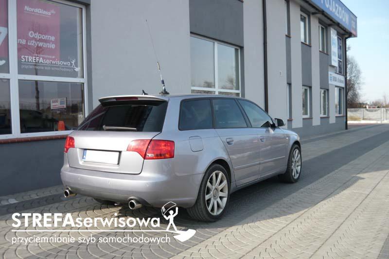 6 Audi A4 B7 kombi Przód 50% Tył 20%