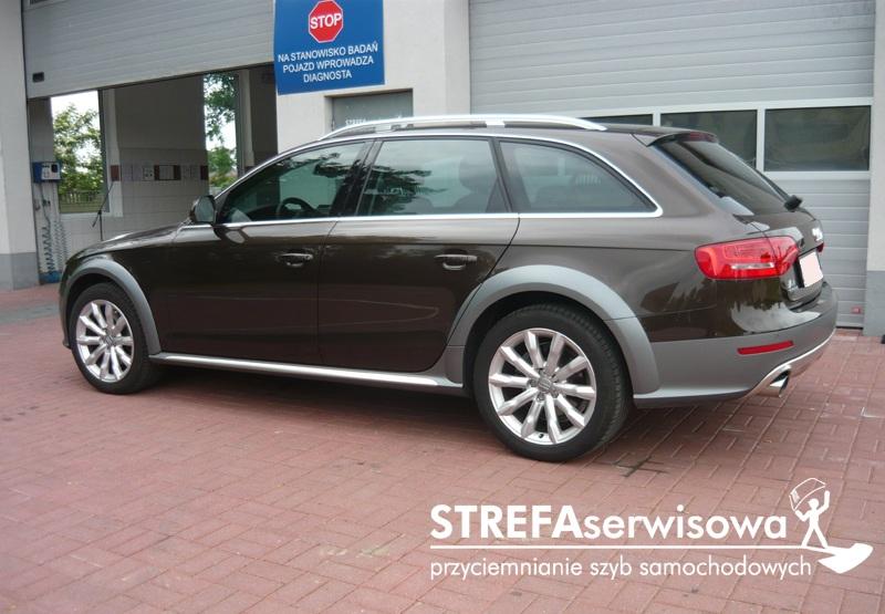 6 Audi A4 B8 kombi Przód 50% Tył 50%