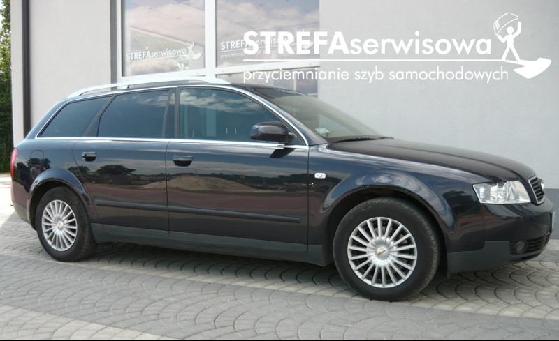 9 Audi A4 B6 kombi Przód 50% Tył 5%