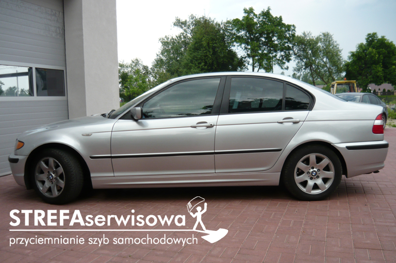 1 BMW 3 E46 sedan Przód 50 Tył 35%