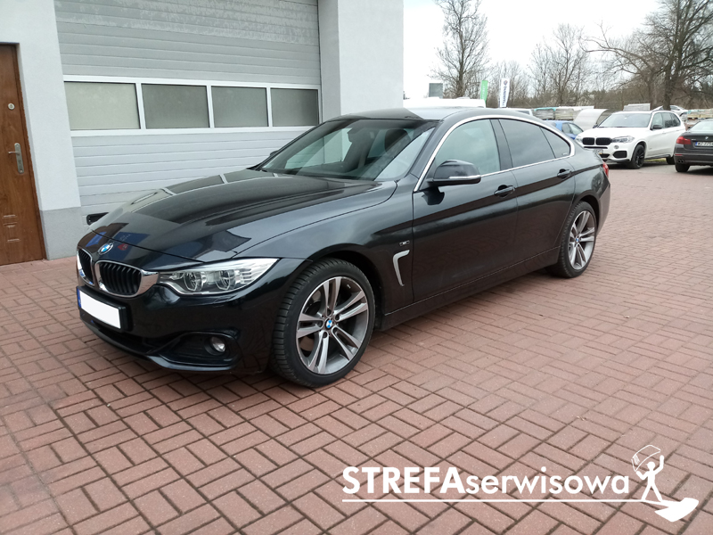 1 BMW 4 Gran Coupe F36 Tył 20%