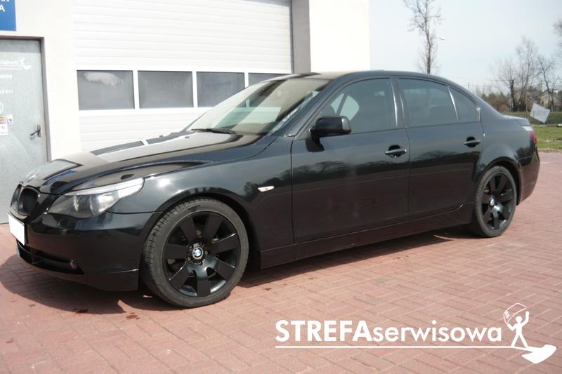 1 BMW 5 E60 Przód 50% Tył 50%