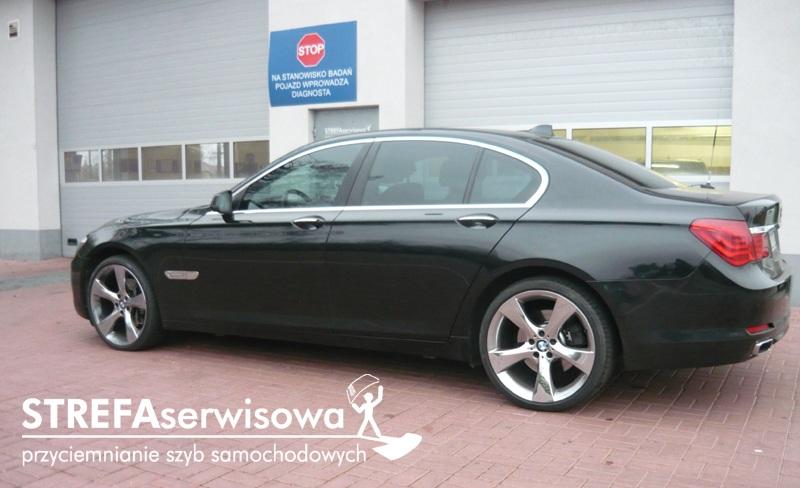 11 BMW 7 F01 Przód 50% Tył 35%