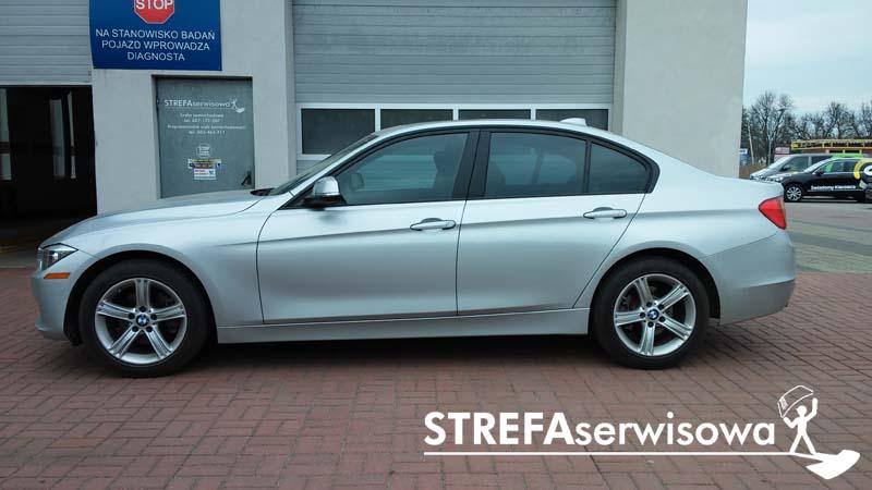 2 BMW 3 F30 Przód 50% Tył 35%
