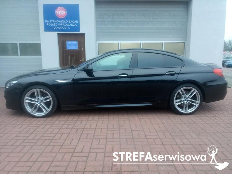 2 BMW 6 Gran Coupe F06 Tył 20%