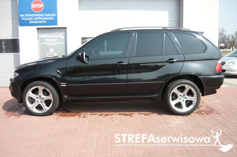 2 BMW X5 E53 Przód 35% Tył 5%