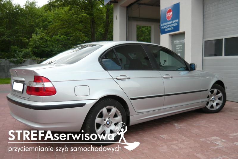 3 BMW 3 E46 sedan Przód 50 Tył 35%