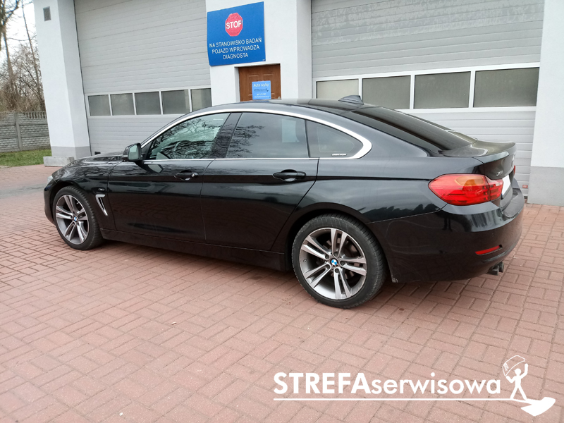 3 BMW 4 Gran Coupe F36 Tył 20%