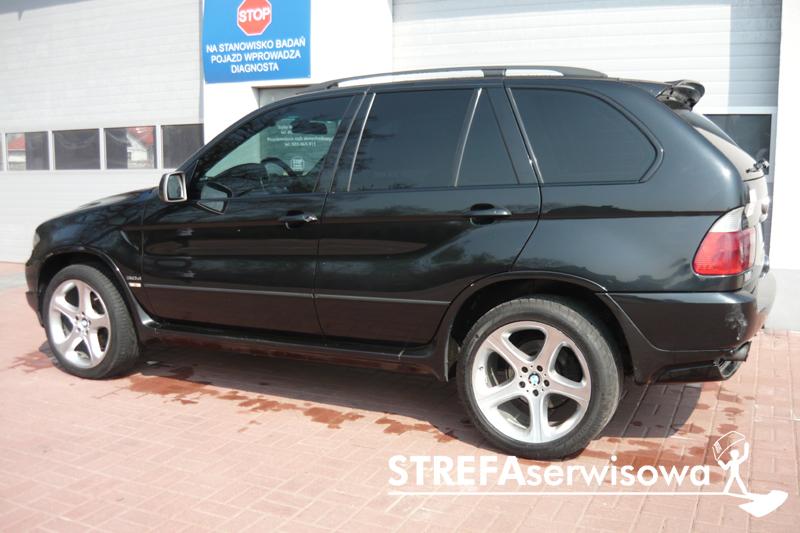 3 BMW X5 E53 Przód 35% Tył 5%