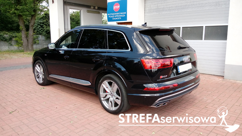 4 Audi Q7 II Przód 70% Tył 5%