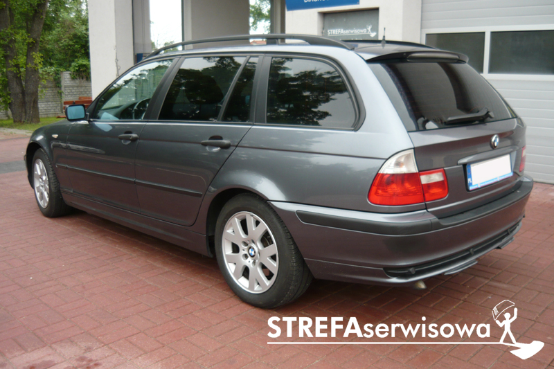 4 BMW 3 E46 kombi Tył 20%