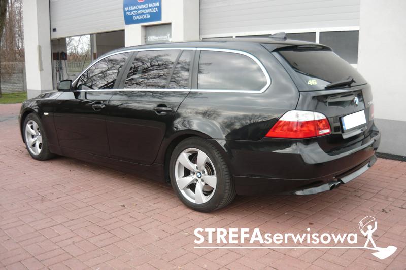 4 BMW 5 E61 Przód 50% Tył 20%