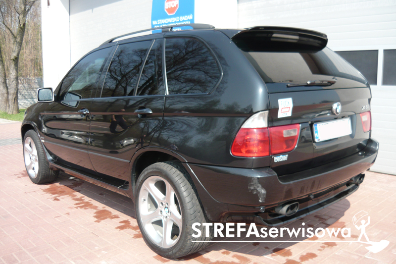 4 BMW X5 E53 Przód 35% Tył 5%