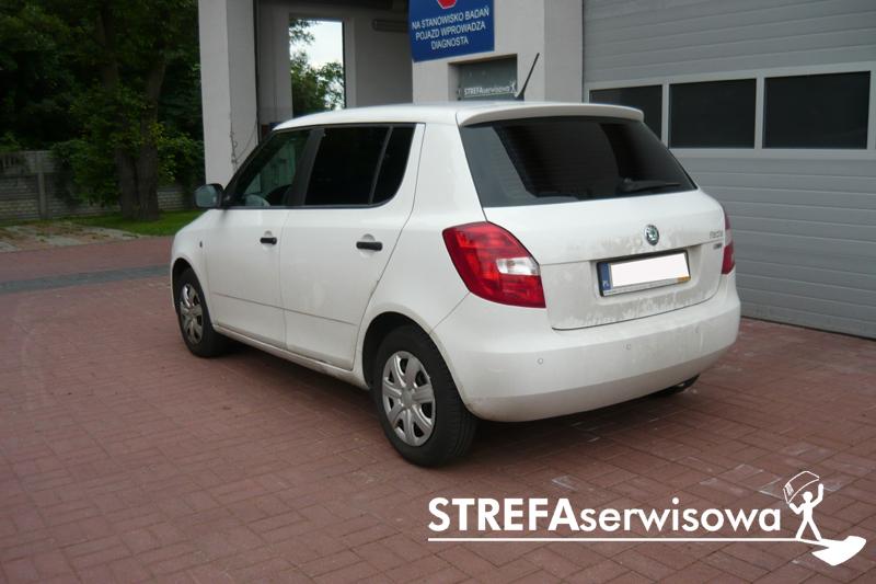 4 Skoda Fabia II hatchback Tył 5%