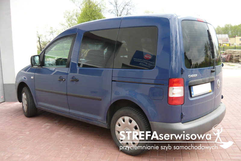 5 VW Caddy III Tył 20%
