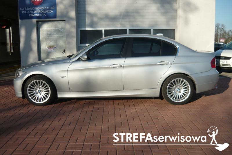 6 BMW 3 E90 Przód 50% Tył 35%