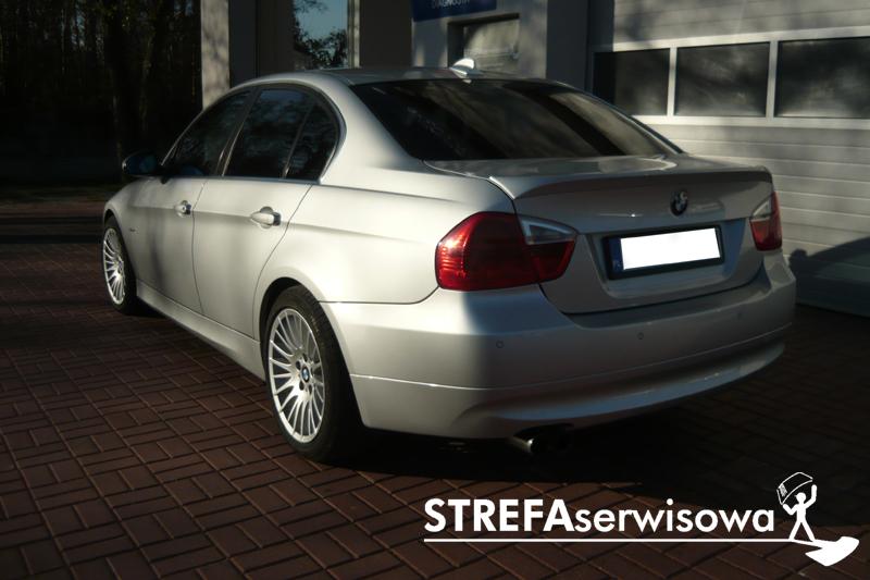 8 BMW 3 E90 Przód 50% Tył 35%