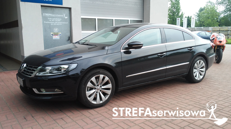 1 VW Passat CC Tył 35%