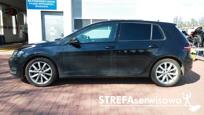 10 VW Golf VII hatchback 5d Tył 5%