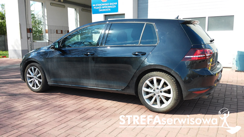 11 VW Golf VII hatchback 5d Tył 5%