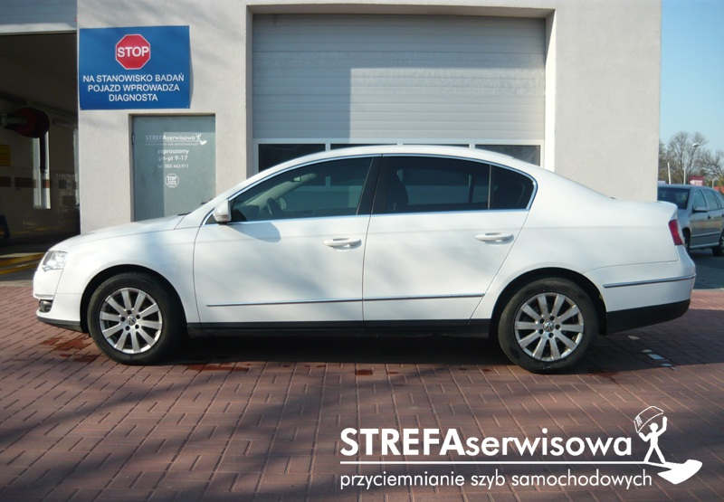2 VW Passat B6 sedan Przód 50% Tył 35%