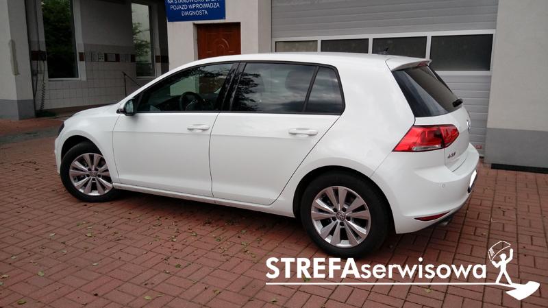 3 VW Golf VII hatchback 5d Tył 20%