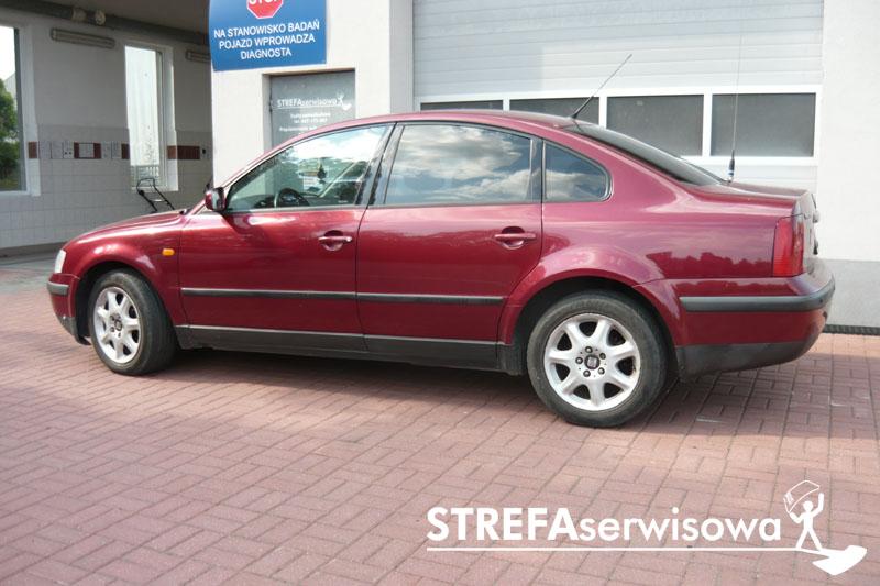 3 VW Passat B5 sedan Tył 20%