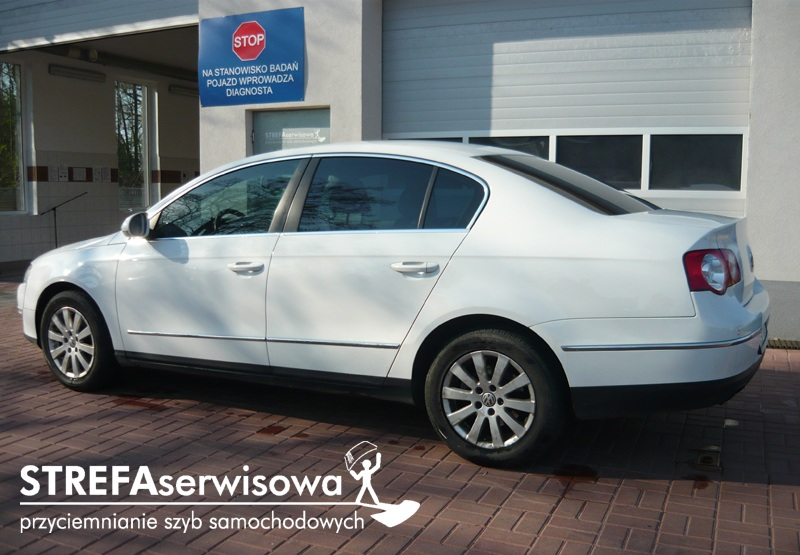 3 VW Passat B6 sedan Przód 50% Tył 35%