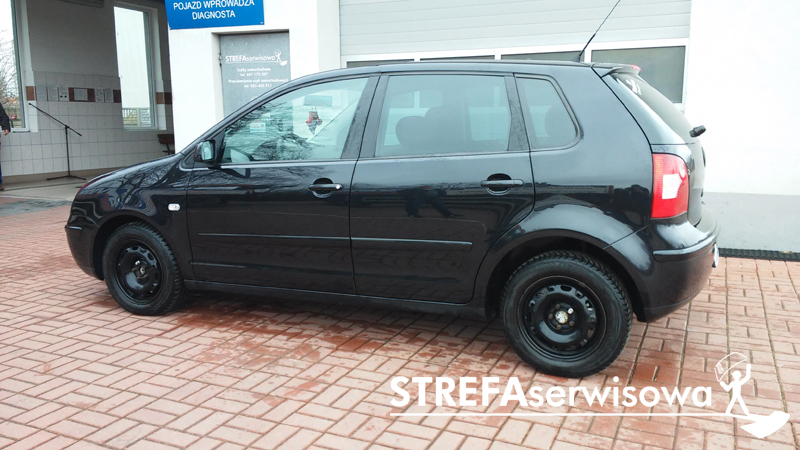 3 VW Polo IV hatchback 3d Tył 35%