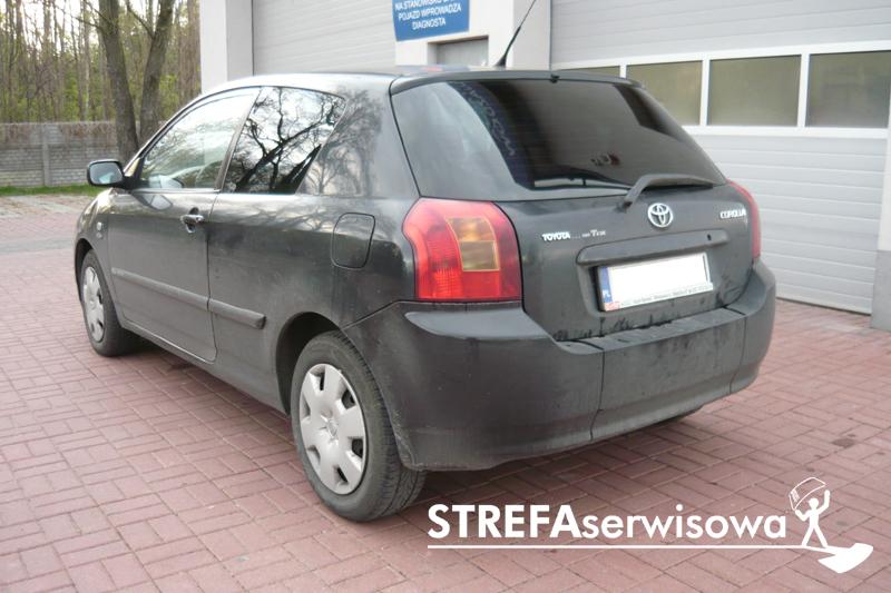 4 Toyota Corolla IX 3d hatchback Tył 20%