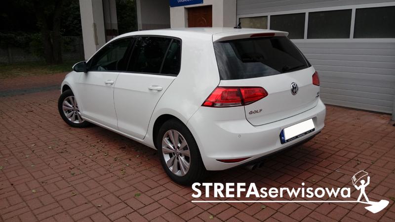 4 VW Golf VII hatchback 5d Tył 20%