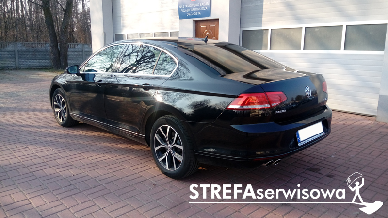 4 VW Passat B8 sedan Tył 35%