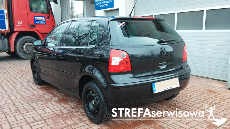 4 VW Polo IV hatchback 3d Tył 35%