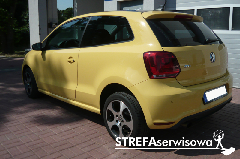 4 VW Polo V hatchback 3D Tył 35%