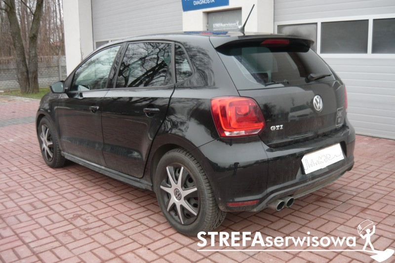 4 VW Polo V hatchback 5D Tył 35%