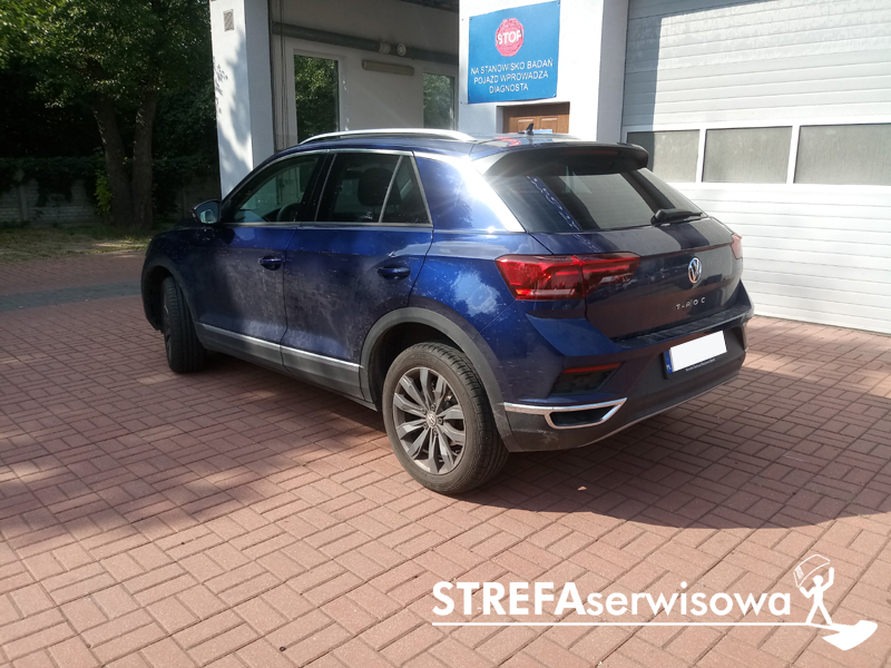 4 VW T-Roc Tył 35%