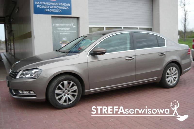 5 VW Passat B7 sedan Tył 20%