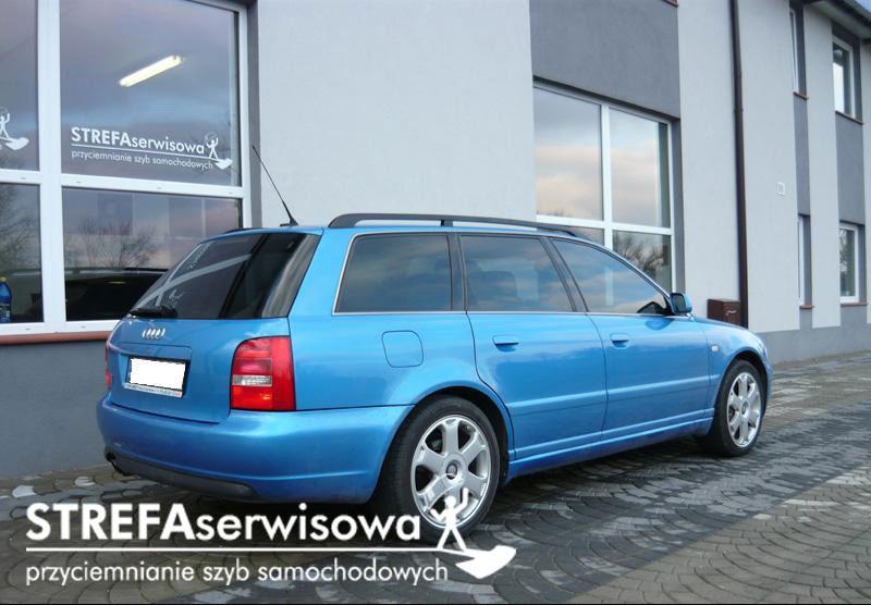 2 Audi A4 B5 kombi Przód 35% Tył 20%