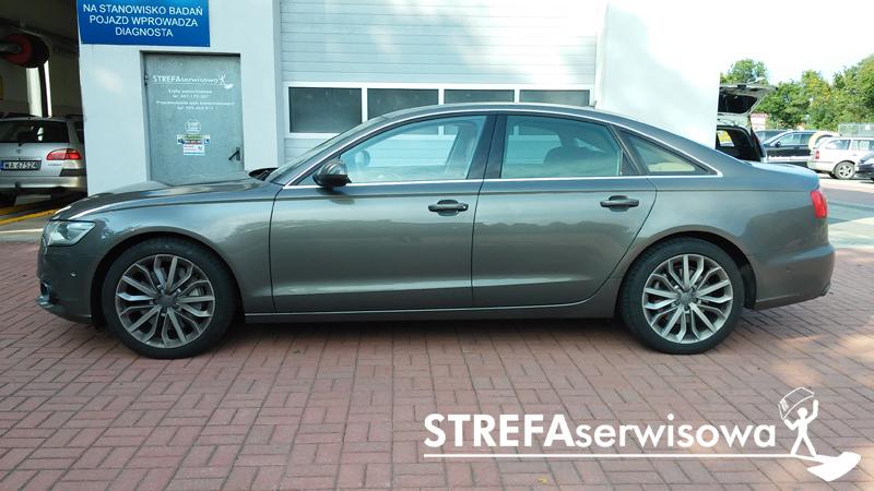 2 Audi A6 C7 sedan Przód 70% Tył 50%
